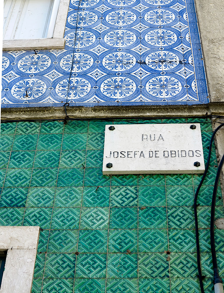 Rua-josefa-de-obidos, Lisboa Photo: Heather Moore
