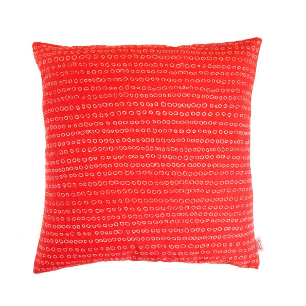 Skinny Laminx Cushion Cover Abacus Poppy