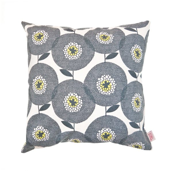 Skinny Laminx Cushion Cover Flower Fields Penny Black