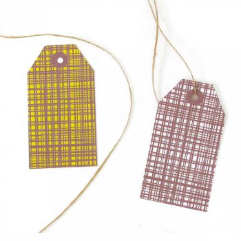 Skinny Laminx Gift Tags Gridly