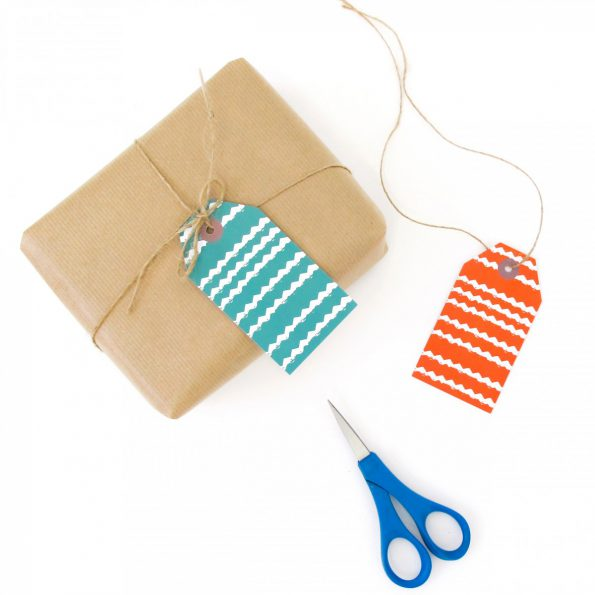 Skinny Laminx Gift Tags Zigzag Styled