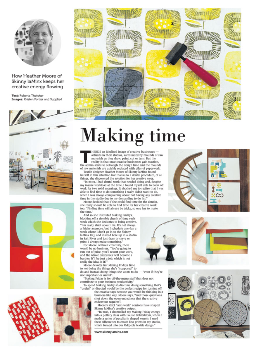 Sunday Times Meet The Maker March x