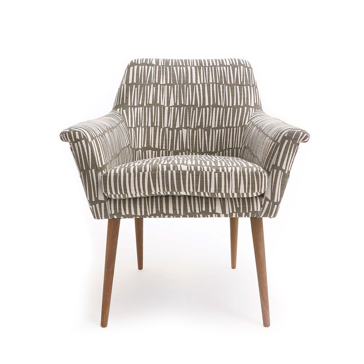 Oslo chair Woodpile Cocoa front
