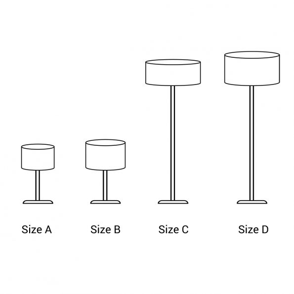 Lampshade Sizes