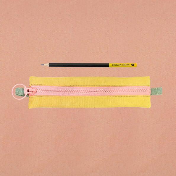 Skinny laMinx Pen Bag Lemon a